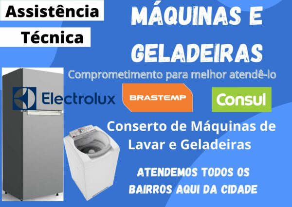 Conserto Máquina de Lavar Taguatinga DF